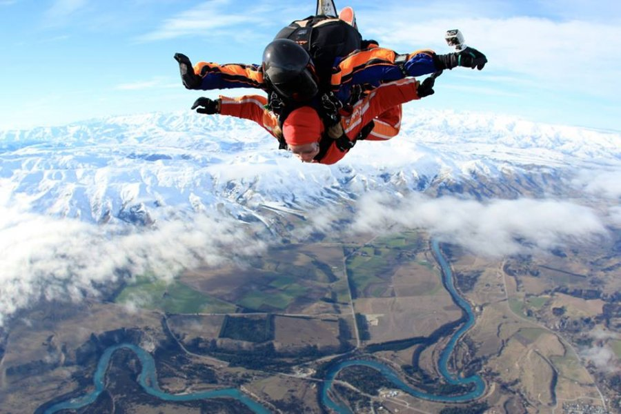 Skydive Wanaka Gallery Strap Yourself To A Beautiful