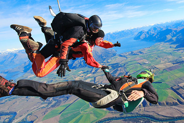 Skydive Wanaka Skydiving Nz 15 000ft In The Sky
