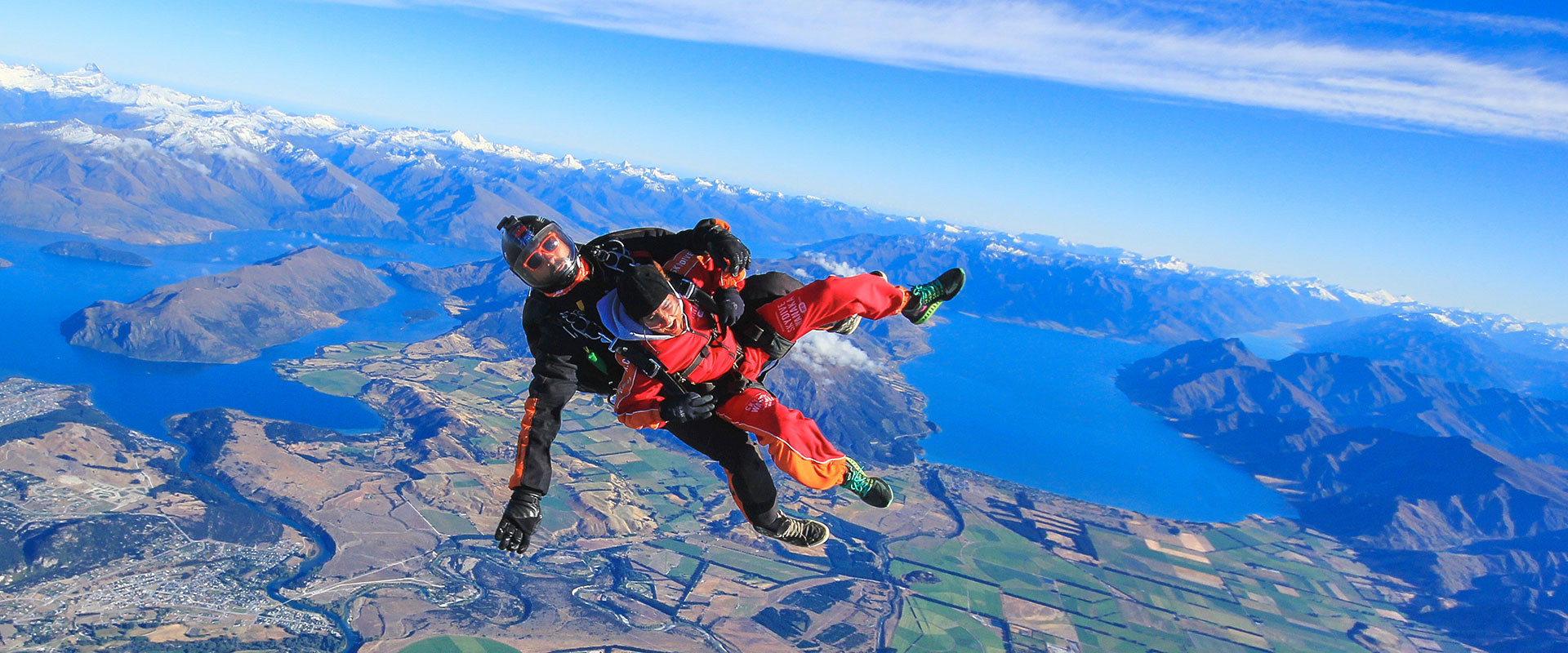 Skydive Wanaka | Skydiving NZ 15,000ft in the Sky
